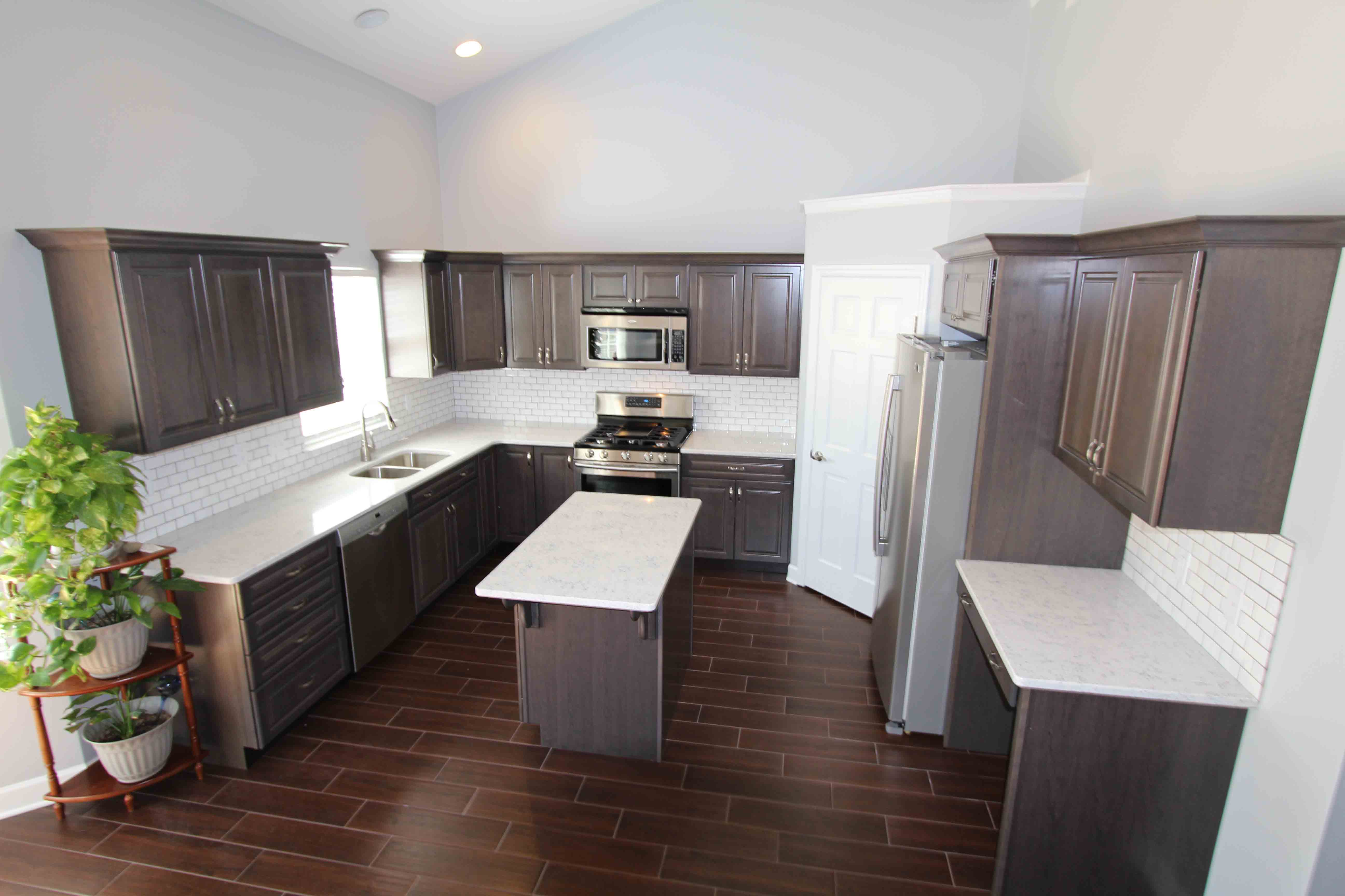 Fire Restoration And Complete Kitchen
