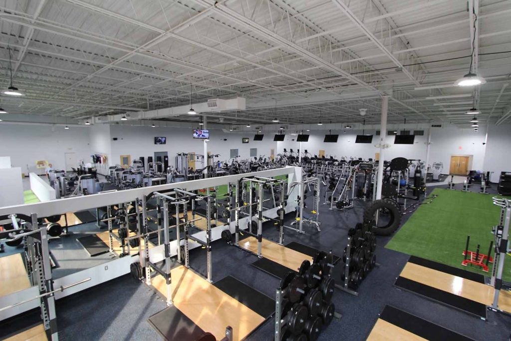 commercial construction exeter pa - gym construction