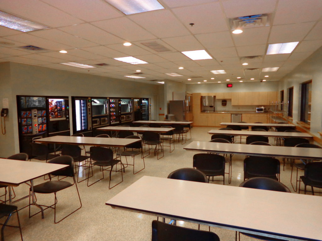 industrial construction and contracting lansdale pa - a renovated cafeteria